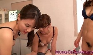 cougar mama  japanese moms  lingerie  sharing  young