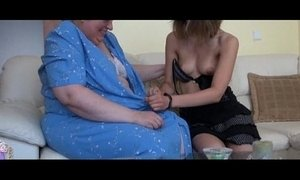 busty  girl  granny  old cunt  playing  skinny mature