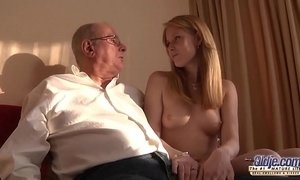 fuck  grandpa  natural body  old cunt  young