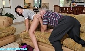 schoolgirl  sucking  young and old