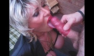 blonde mature busty dick mom pissing sucking