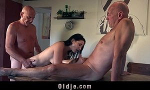 3some cute mom friend of son fuck girl old cunt