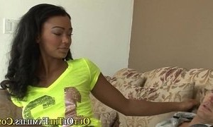 ebony mature  fuck  sister  stepmother