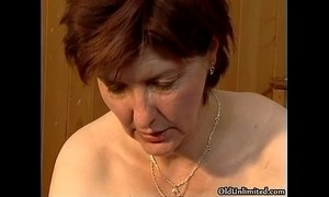 crazy dirty milf mature old cunt woman
