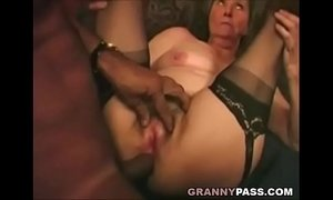 anal  granny  interracial  old granny