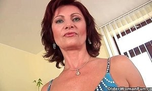 grandma  granny  masturbating  puffy nipples  pussy